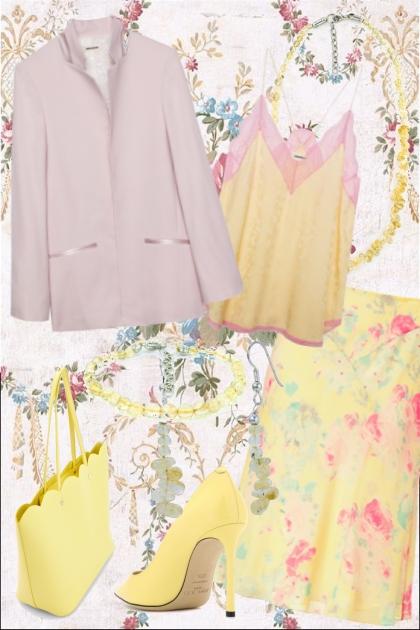 Pink yellow- Fashion set