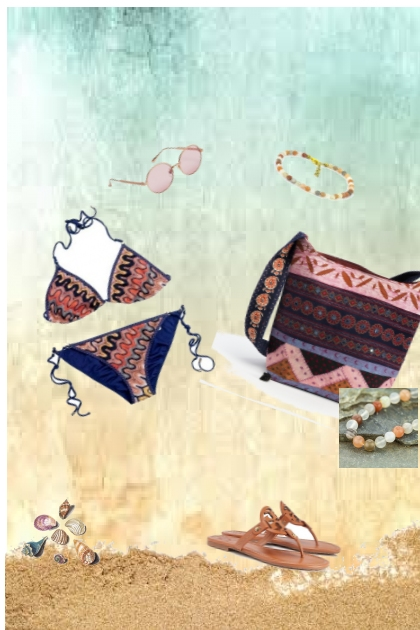 beach- Fashion set