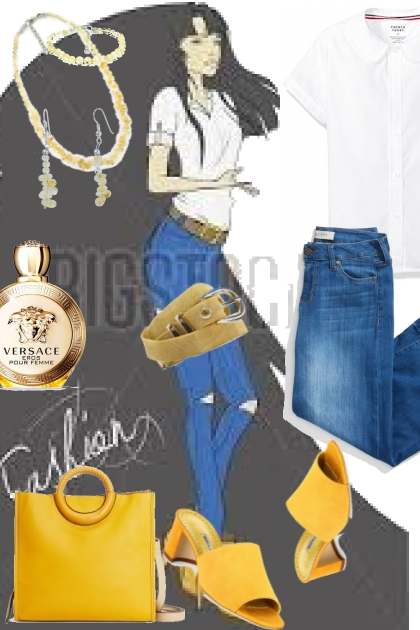 jellow- Fashion set