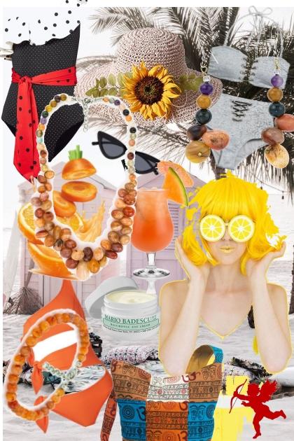Suncokret- Fashion set