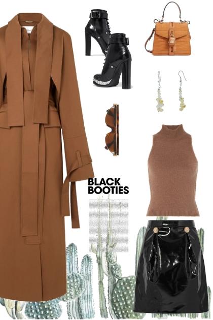 BLACK BOOTIES- コーディネート