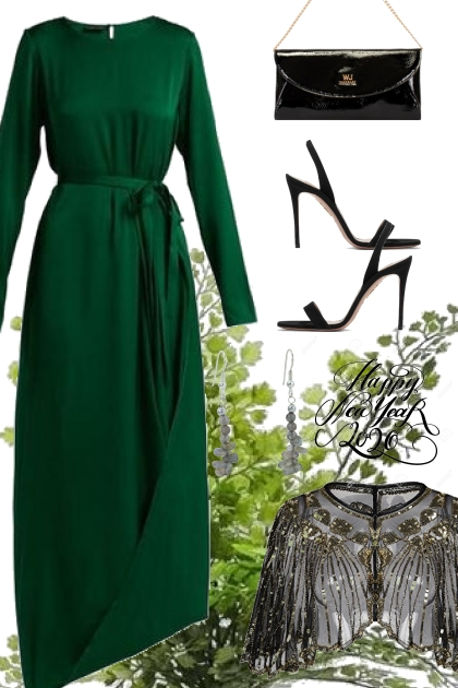 ENTERING WITH GREEN EMERALD- Fashion set