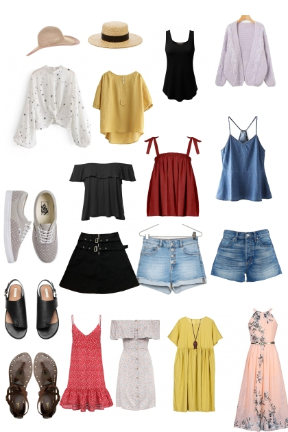 Female Packing List for Japan in Summer