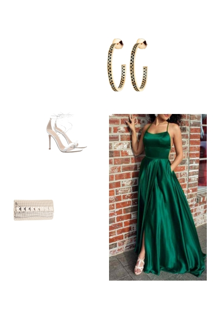 Simple yet chic prom ourfit