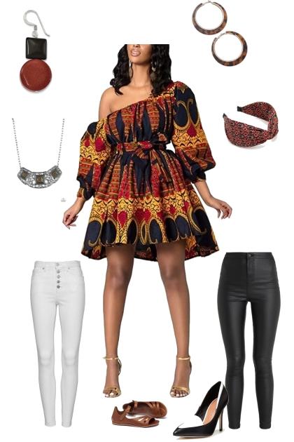 Africa style- Fashion set