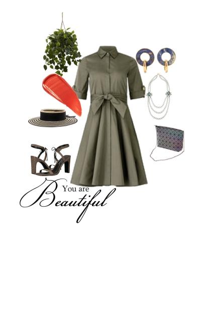 Elegant lady like