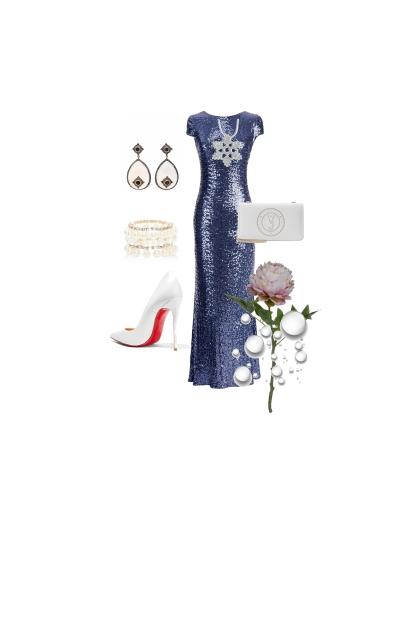 Cocktail evening dress
