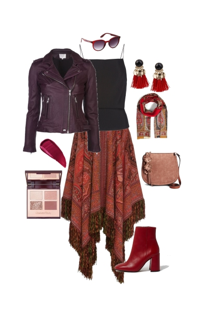 Brown and edgy