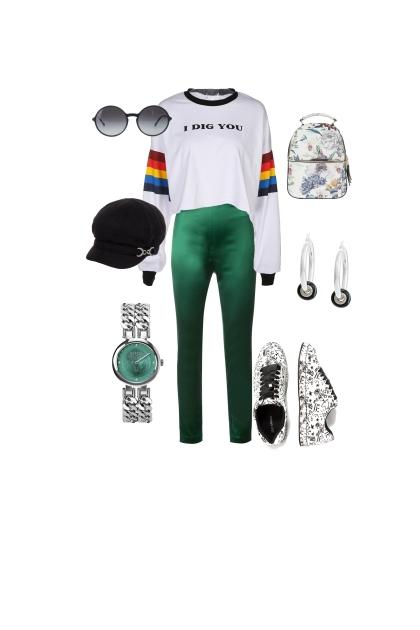 Eccentric college wear
