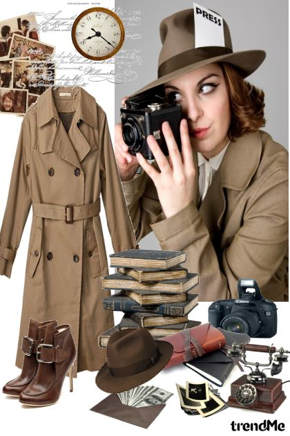 Press or private  detective...whatever