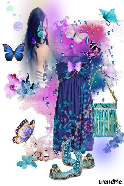dodir leptira- Fashion set
