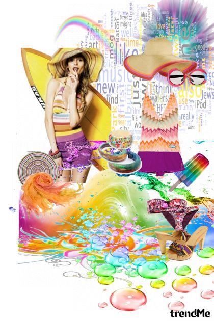 Sea of color