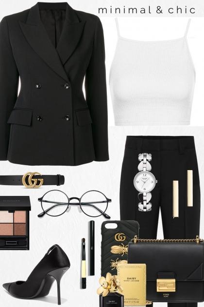 Female Executive- Combinazione di moda