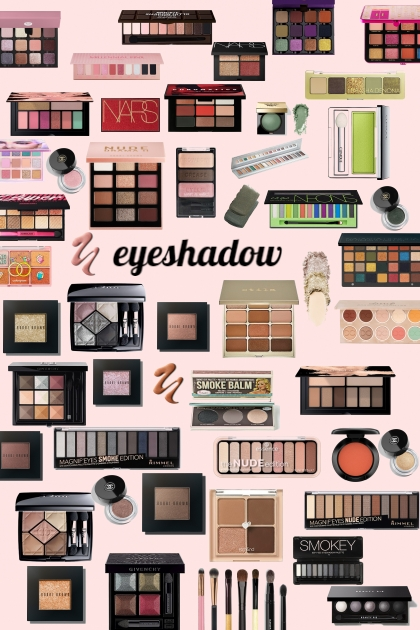 Eye shadow: Which one will you choose?