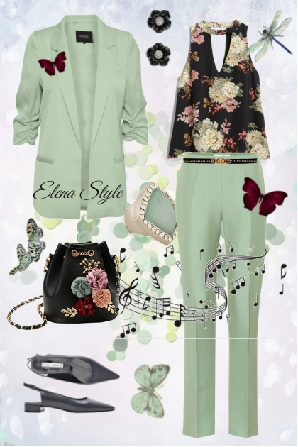 пион- Fashion set