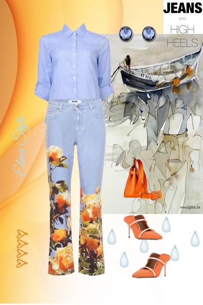 джинсы2- Fashion set