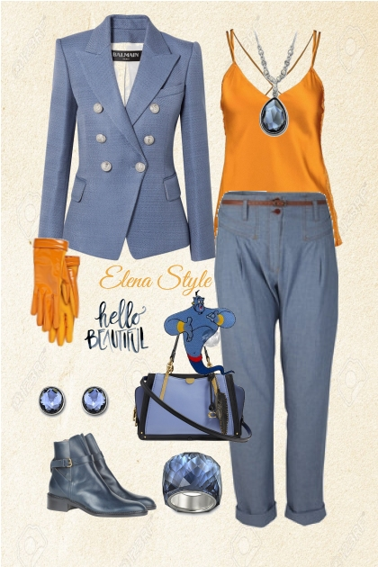 джин- Fashion set