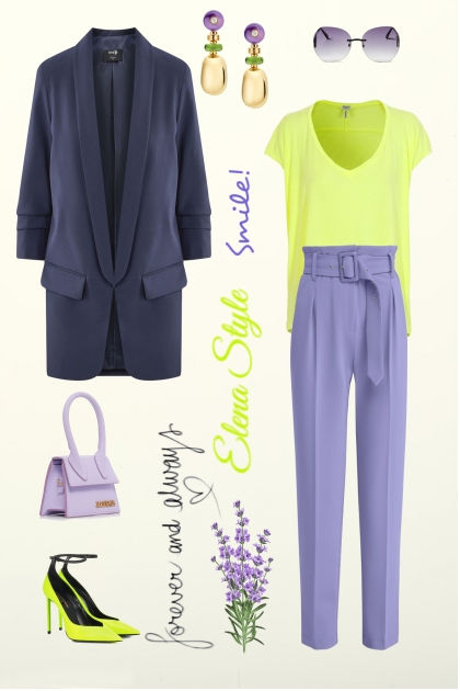 салат лаванда- Fashion set