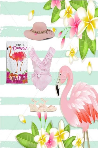 Flamingo- Fashion set