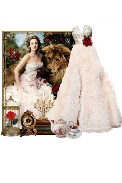 Polyvore Original - Beauty and the Beast