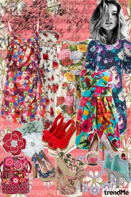 flower power!- Fashion set