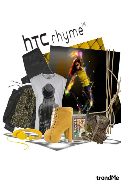 Dancing with  hTC