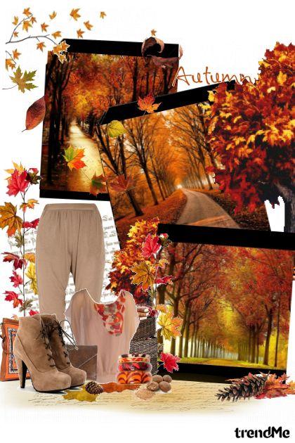 lišće pada