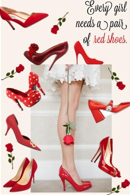Red Shoes- Fashion set