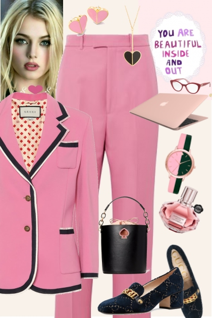 Pink- Fashion set
