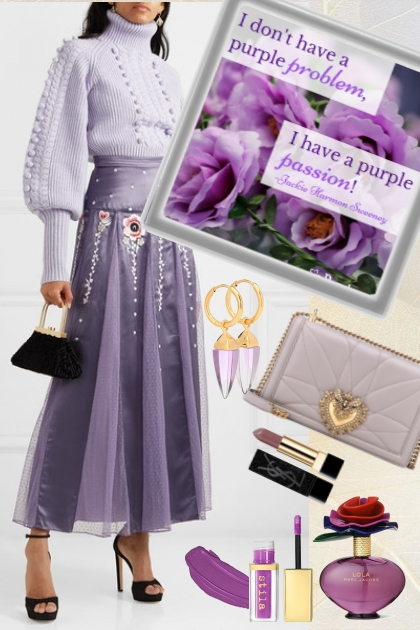 A purple passion- Fashion set