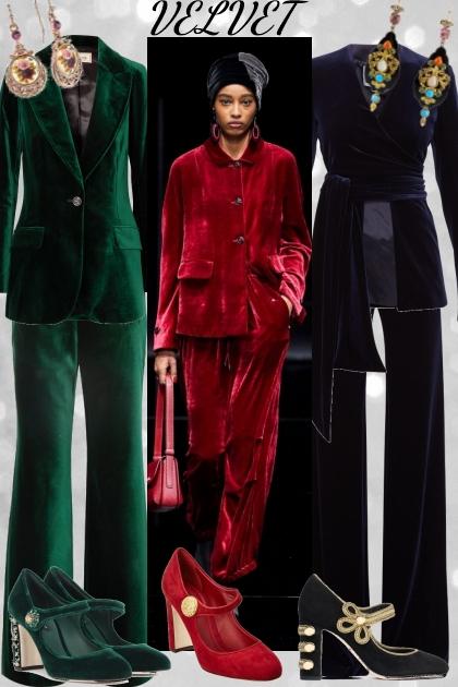 Velvet- Modekombination