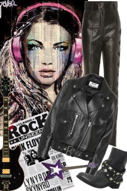 Rock- Modekombination