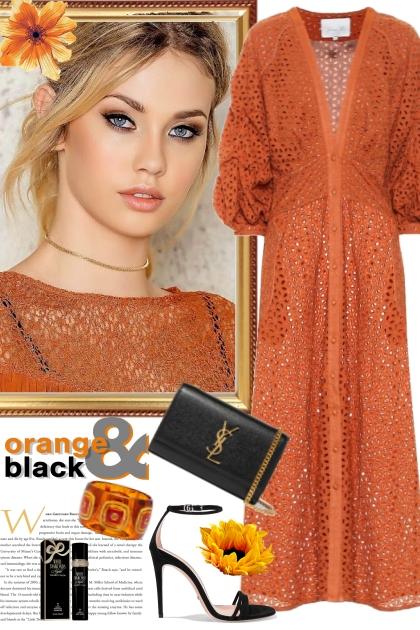Orange and Black 2
