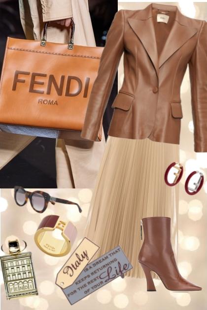 Fendi 5- Combinazione di moda