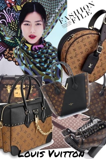 Louis Vuitton- Combinaciónde moda