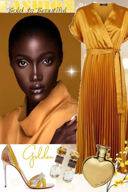 Golden- Модное сочетание