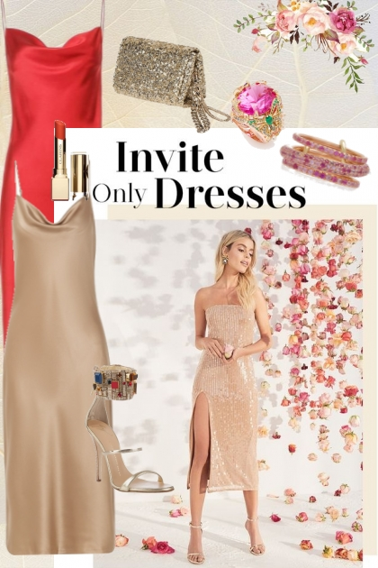 Invite only dresses