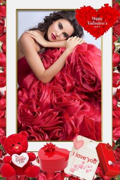 Happy Valentine's Day!- Fashion set