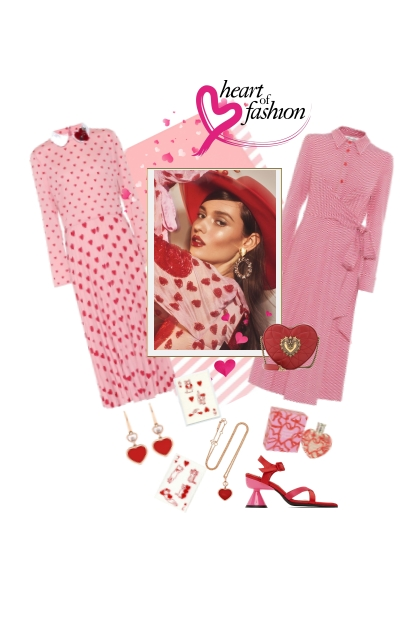 Heart of fashion