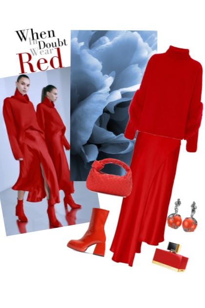 Wear red.