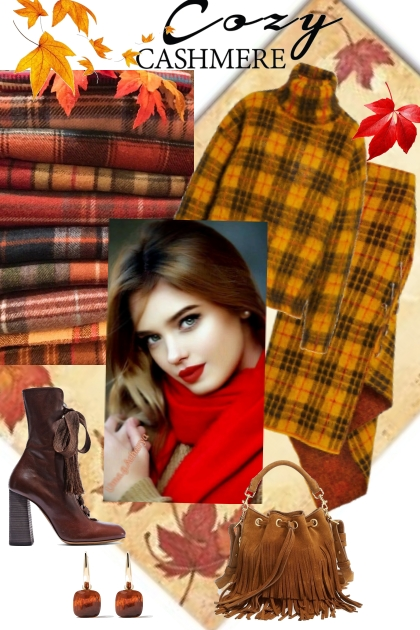 Cozy cashmere- Combinaciónde moda