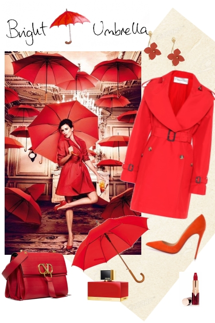 Bright umbrella- Combinaciónde moda