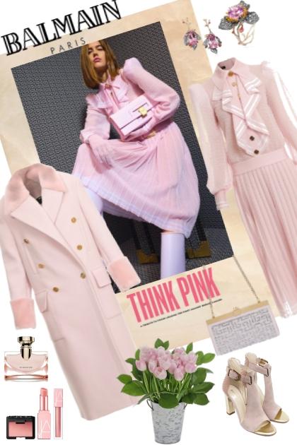 BALMAIN pink