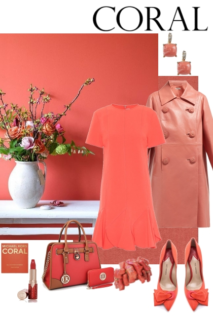 Coral- Fashion set