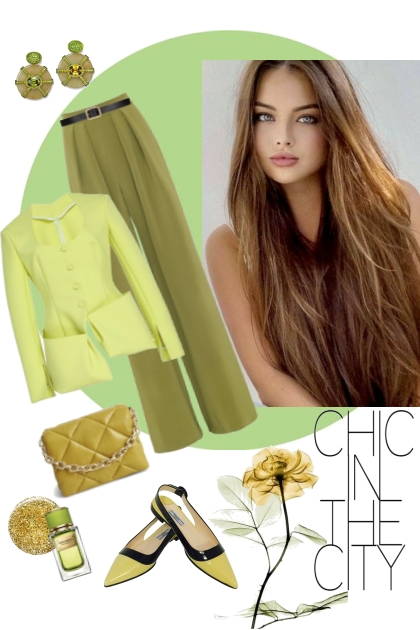 Chic in the city.- Fashion set