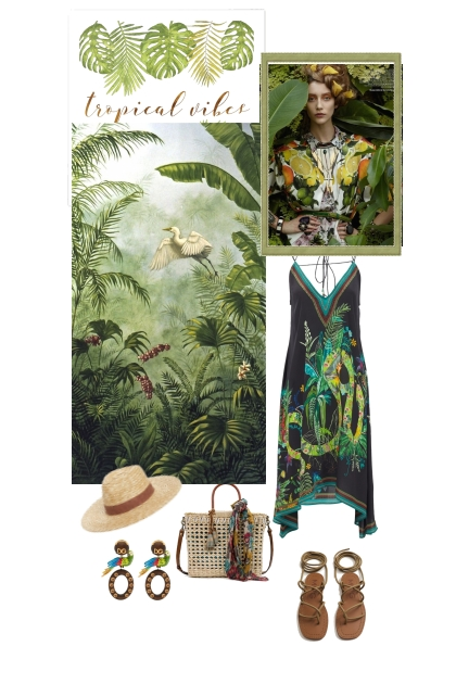 Tropical vibes- Fashion set