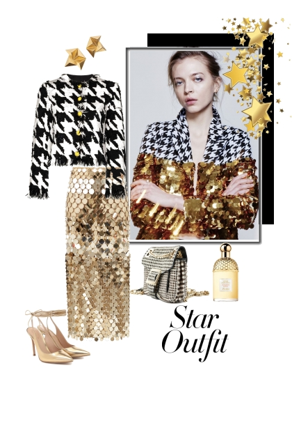 Star outfit.