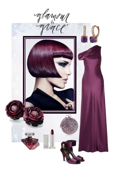 Glamour and grace...- combinação de moda