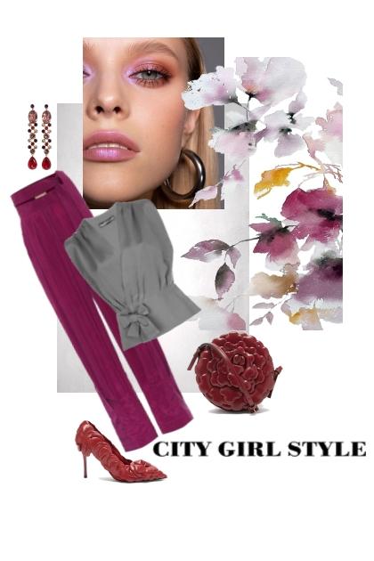 City girl style..