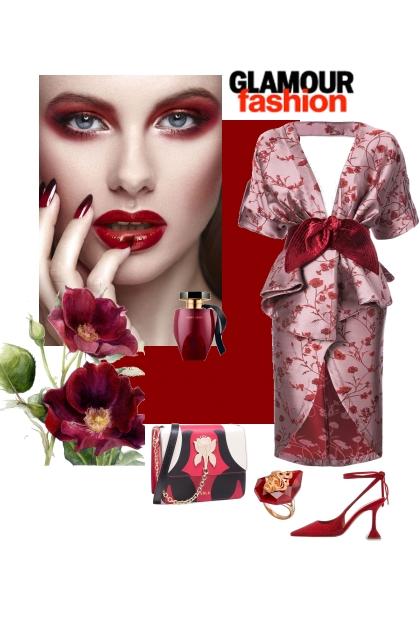 Glamour fashion......